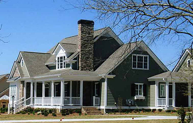 Shook Hill Mitchell Ginn Southern Living House Plans