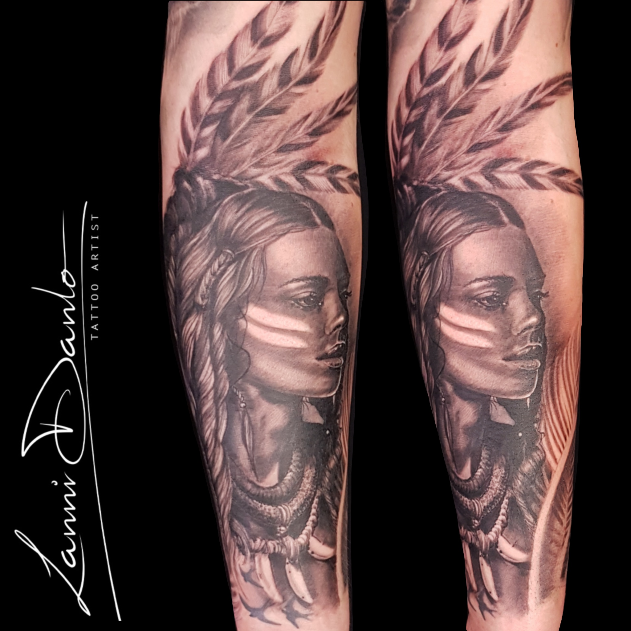 Treppe Tattoo Lee Anne Danlowsk Certified Artist