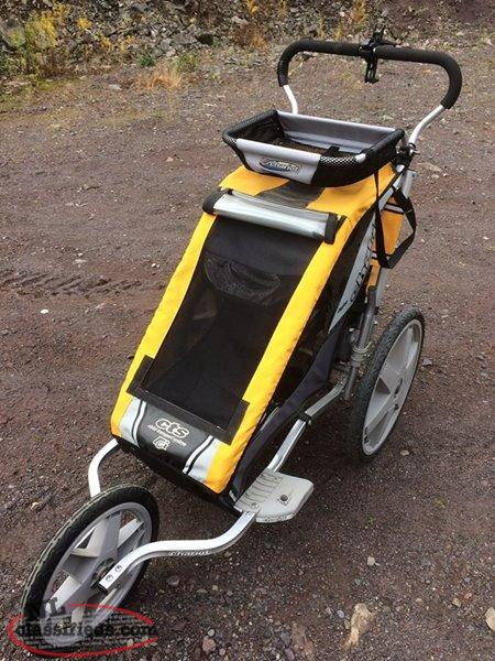 Infant Stroller Used Chariot Cheetah Cts Child Transport System Portland