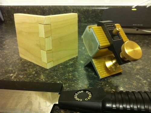 Looking For Hand Cut Dovetail Tips And Tricks - By Rickg83