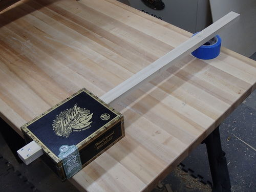 Building A Simple Cigar Box Guitar 1 Fitting And Shaping