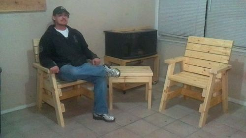 Much Better Tutorial For My 2x4 Outdoor Furniture By Jsb
