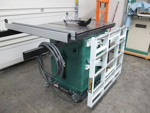 """Review: HTC 37"""" x 31"""" Folding Roller Outfeed Table for"""