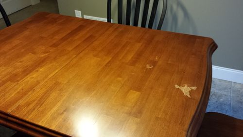 Spilled Nail Polish Remover On Table My Web Value