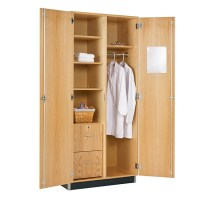 Diversified Woodcrafts Oak Wardrobe Cabinet - 360-3622k ...