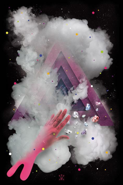 21 fabulous creative flyer designs - club flyer background