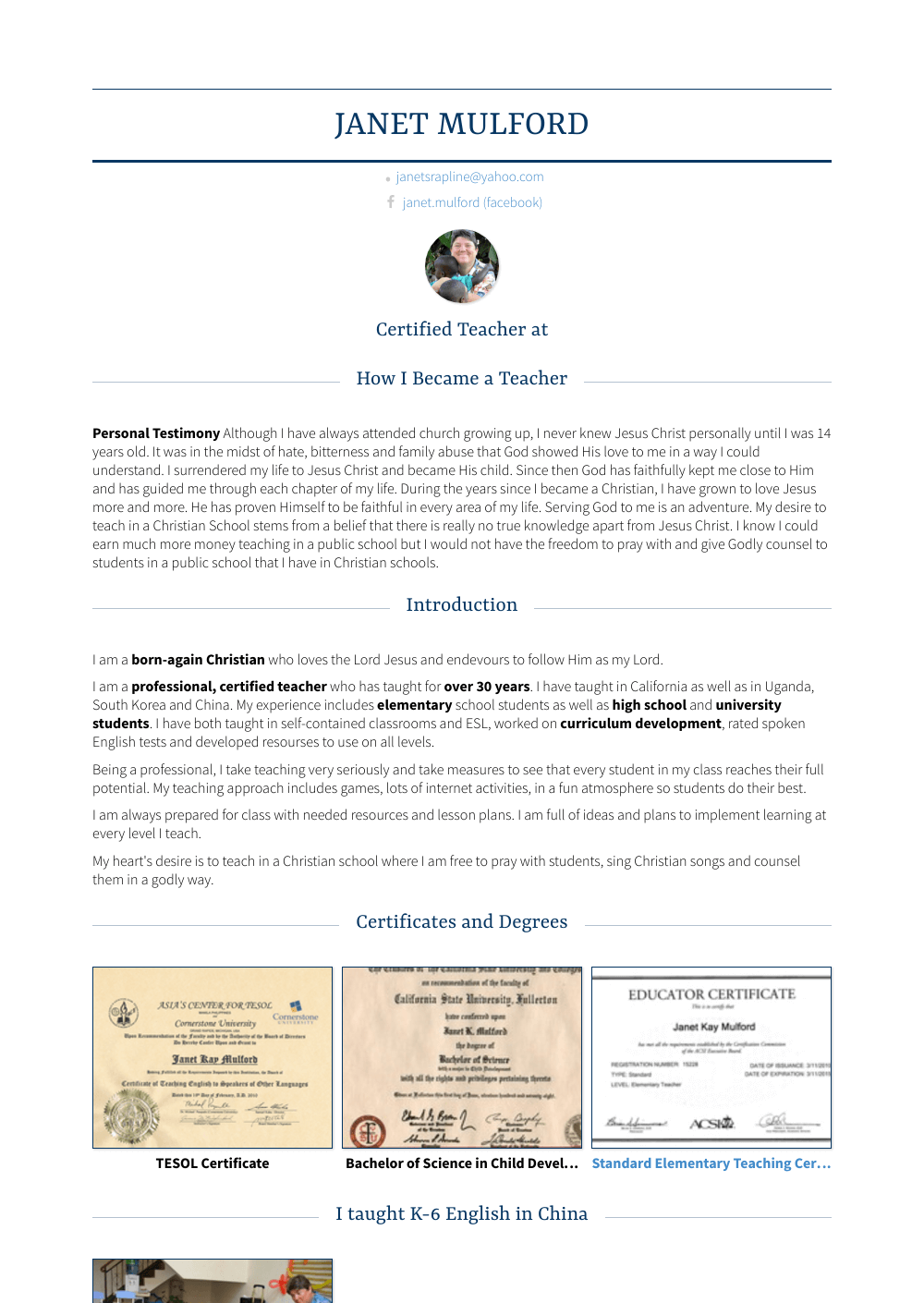 free pastor template cv