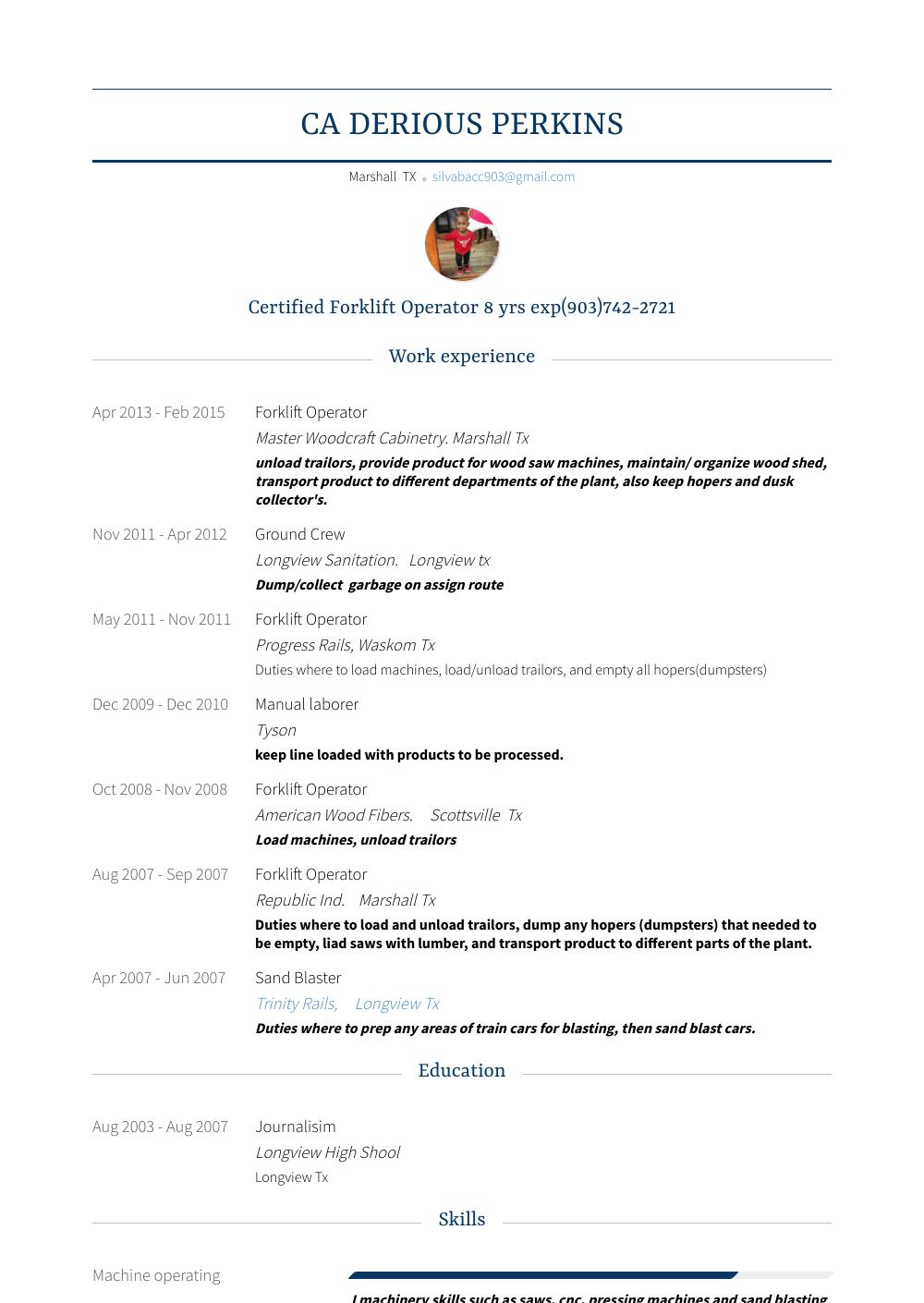 up resume builder