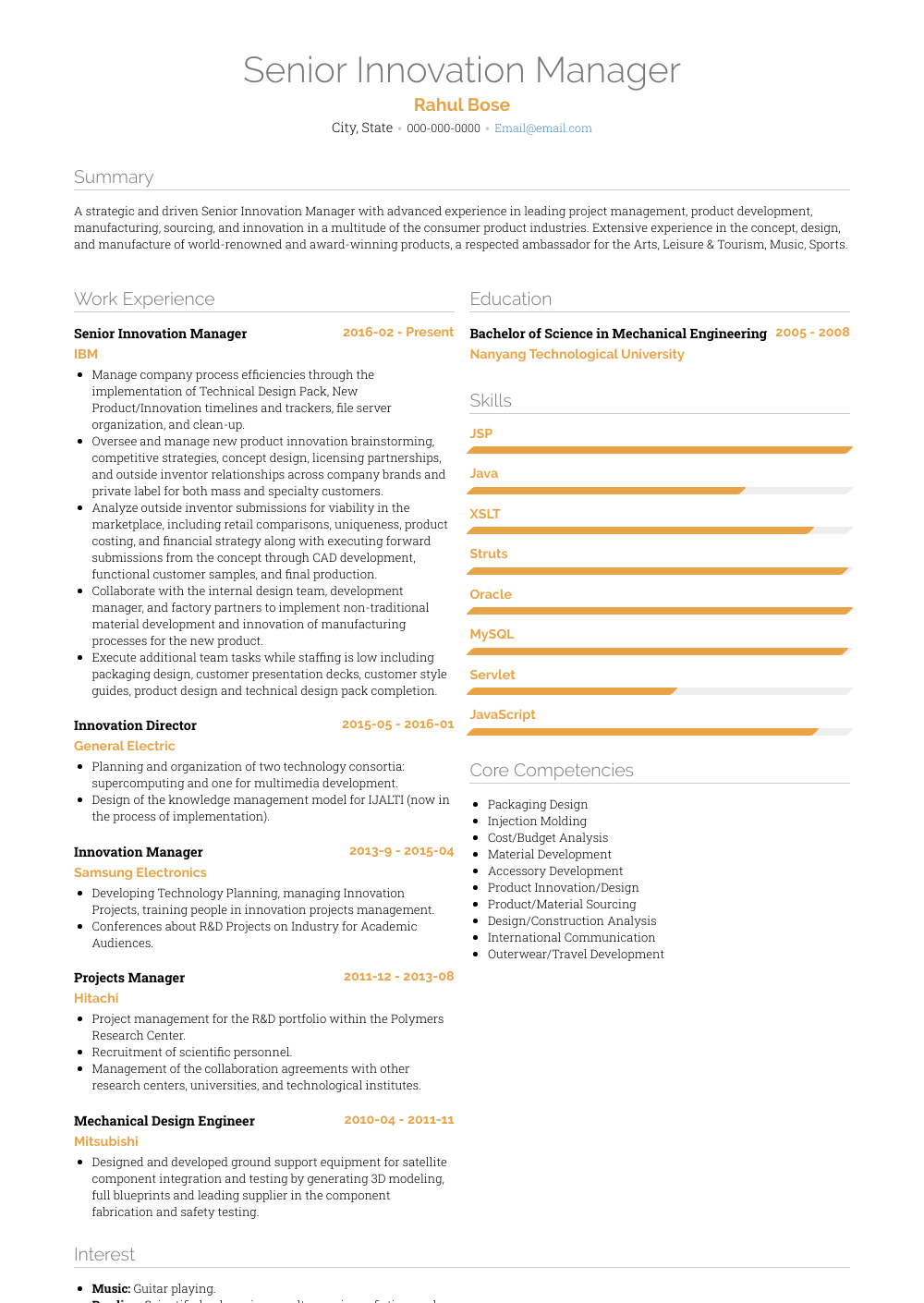 linkedin cv resume builder