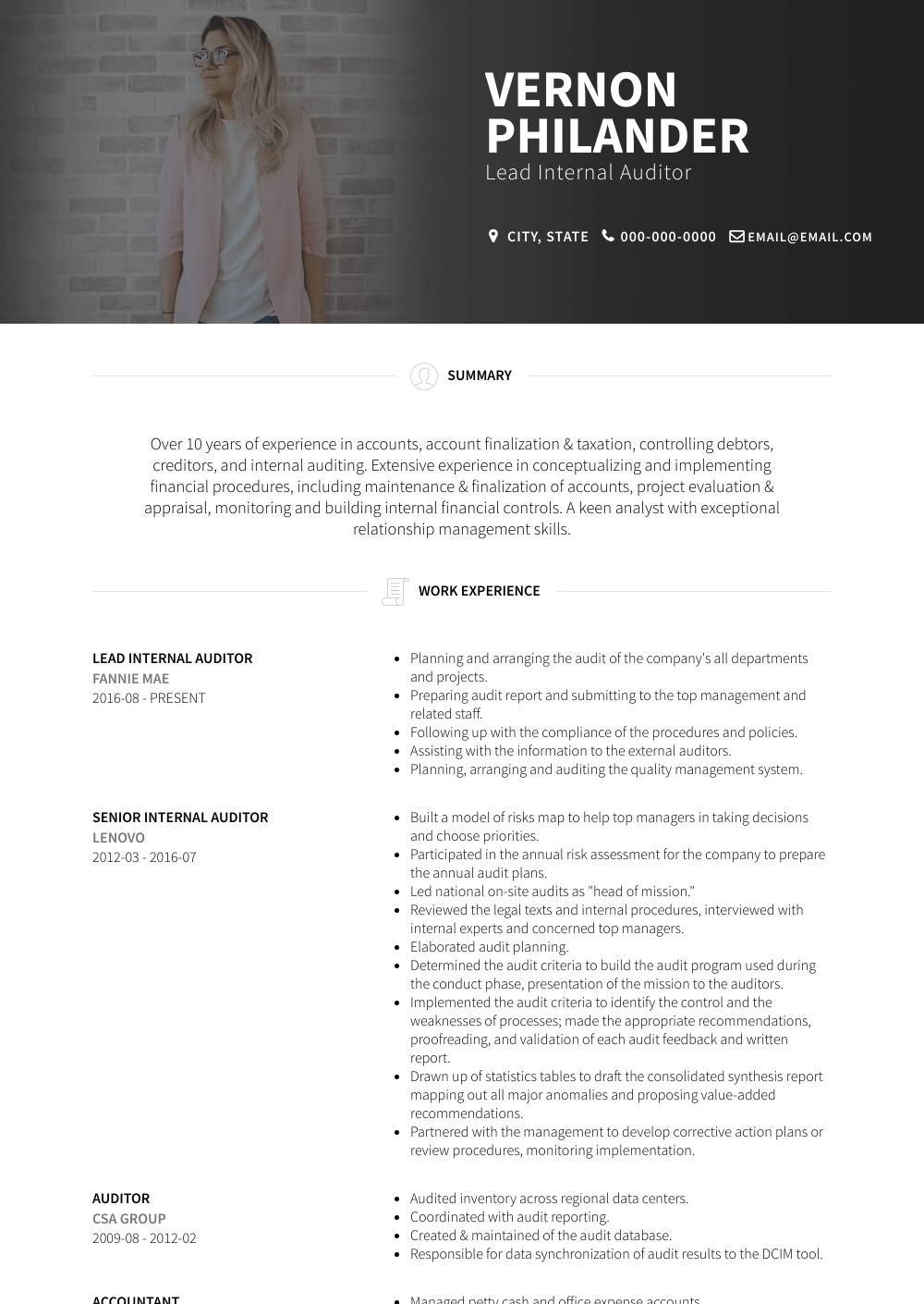 skills summary for resume sample