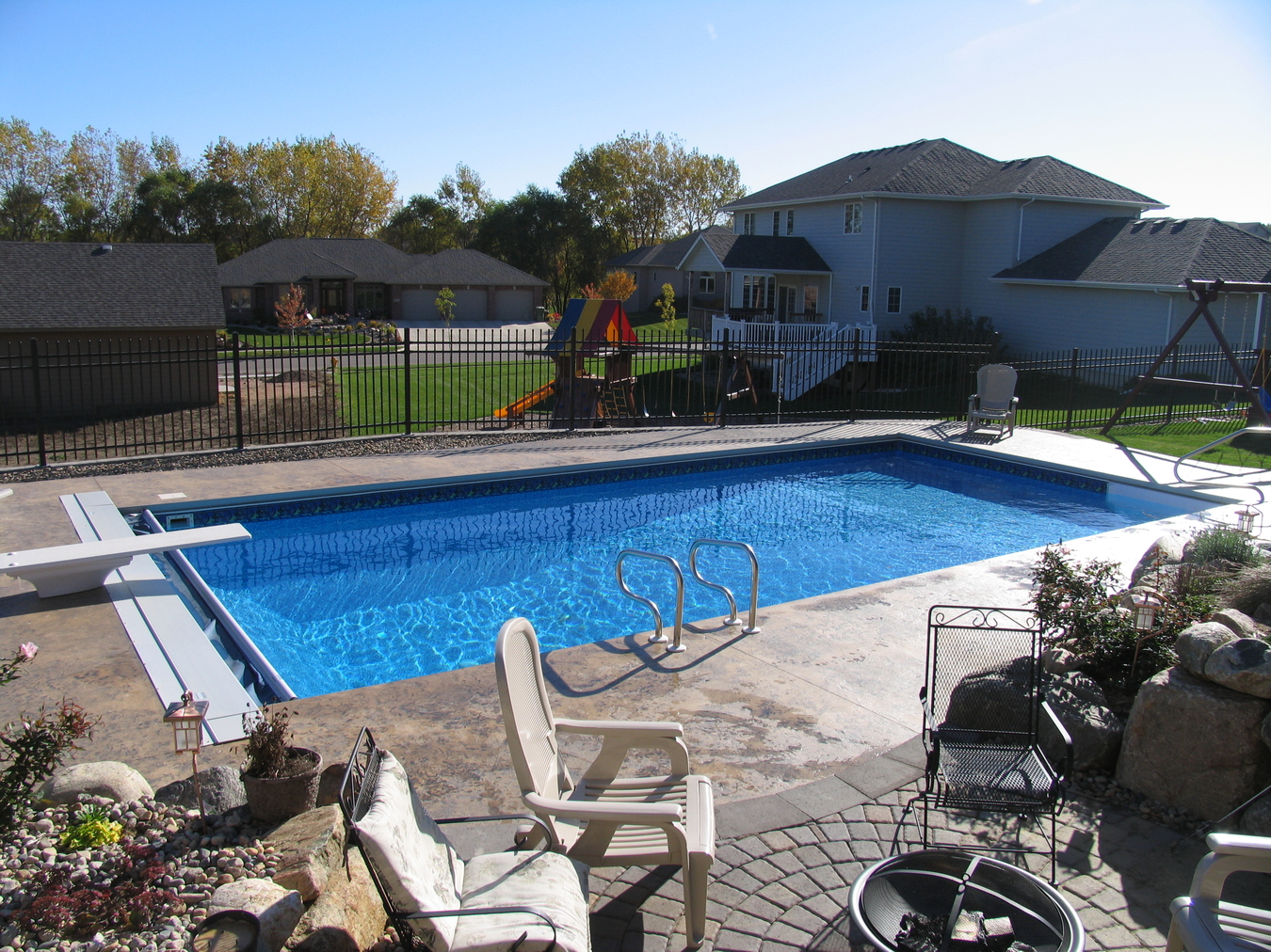 Jacuzzi Pool In Ground Inground Pools Hot Tubs Sioux Falls Brookings Mitchell Swim