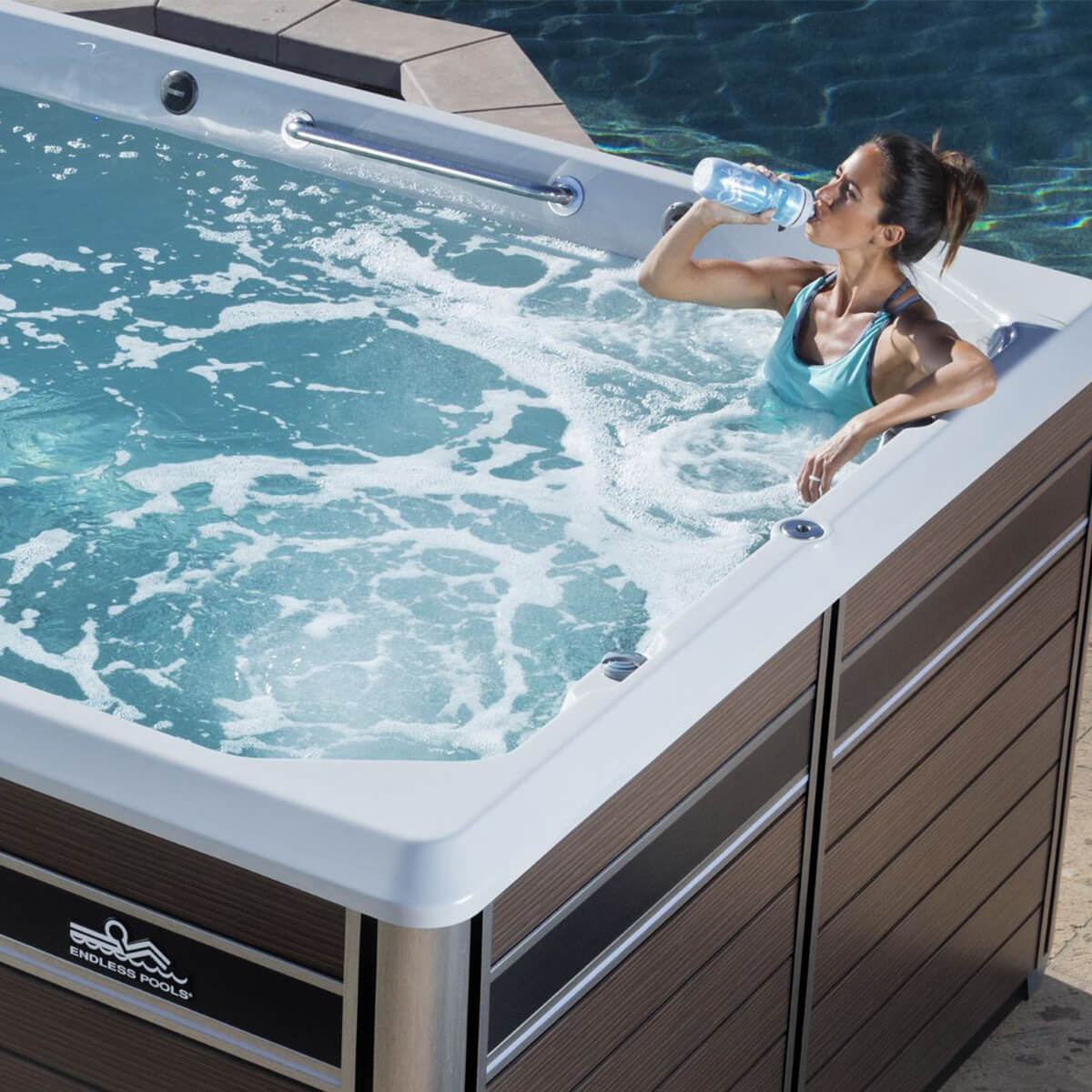 Jacuzzi Endless Pool E550 Endless Pools Fitness Systems Luxury Pool Spa