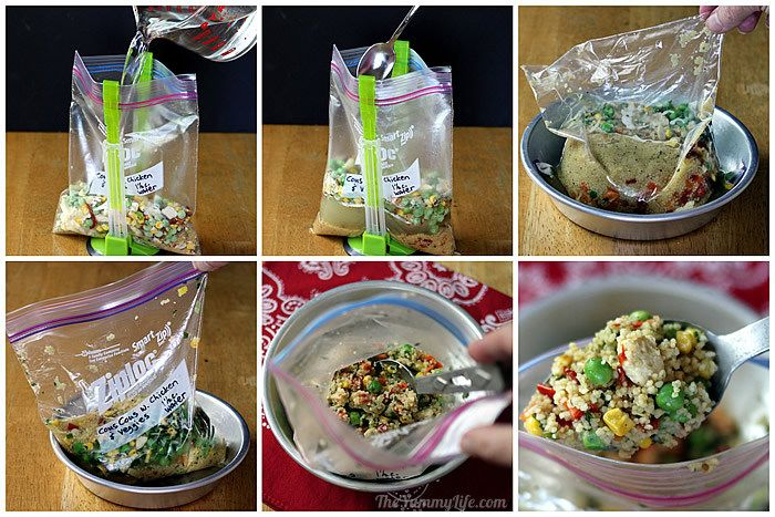 6 Instant Meals-On-The-Go Just Add Boiling Water
