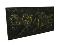 Wild Running Horses Decorative Metal Wall Art Hanging | eBay