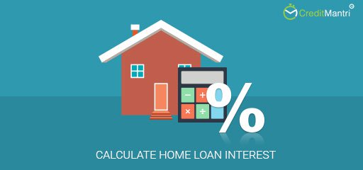 How to calculate Home loan interest
