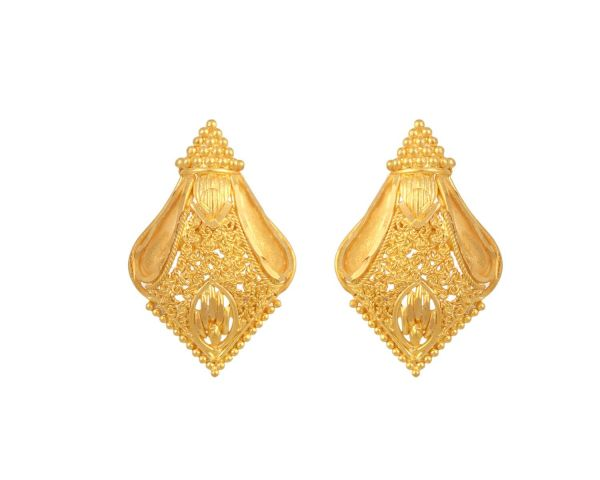 Inspirational Gold Earrings Designs Price Hyderabad