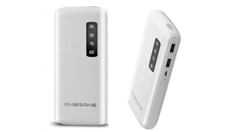 Ambrane unveils P-1144 10000mAh power bank - p & l template