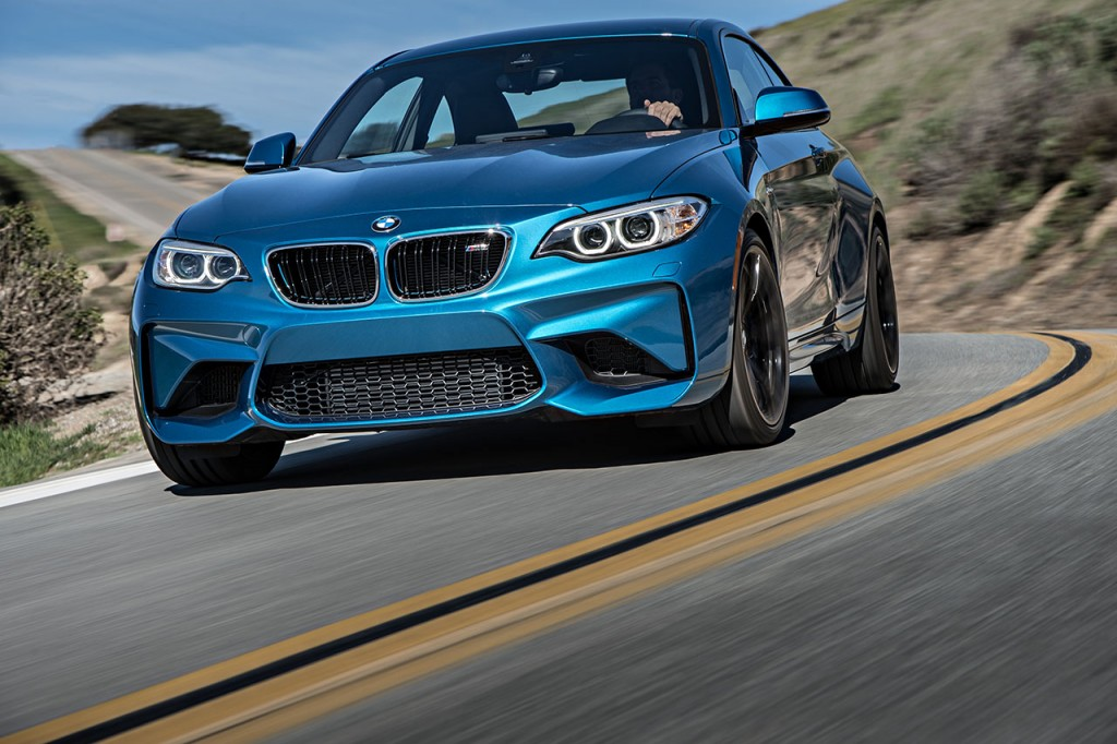 The M2's look is generally easy to love.