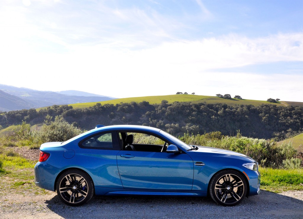 Like the E46, the M2's proportions just feel right.
