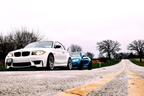 BMW M2 and BMW 1M somewhere in southern Wisconsin