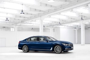 "World Premier: BMW Individual 7 Series THE NEXT 100 YEARS""."