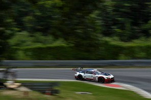 Both BMW Team RLL M6s Crash-out of the Northeast Grand Prix