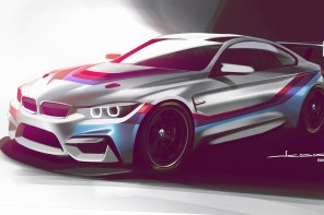 BMW to Debut New M4 GT4 Race Car in 2017