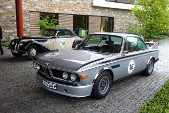 Bertechsgaden (DE) 30th May 2013. BMW Sports & Classic Rallye, BMW 327 Cabrio and BMW 3.0 CSL. This image is copyright free for editorial use © BMW AG (05/2013).