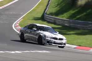 The 2018 BMW M5 Continues Testing at the Nurbirgring