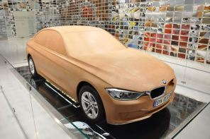 Ever Wonder What's Inside a BMW Clay Model?