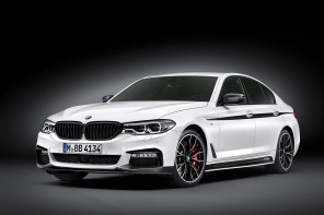 BMW 5 Series Sedan with BMW M Performance Accessories (w/Gallery)