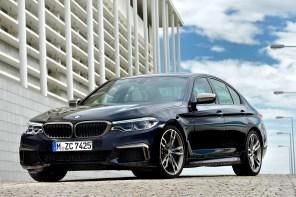 Premier: 2017 BMW M550i xDrive