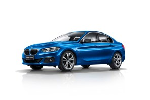 BMW Launches the Front Wheel Drive 1 Series's Sedan in China