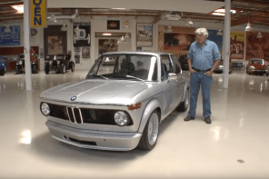 Jay Leno's Garage Welcomes an Incredible Looking BMW 2002