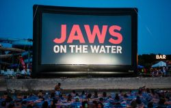 High Audience Settled Laying This Might Sound But I Once Movie Got Going That Raft Watching Jaws Was One Most I Survived Jaws On Water