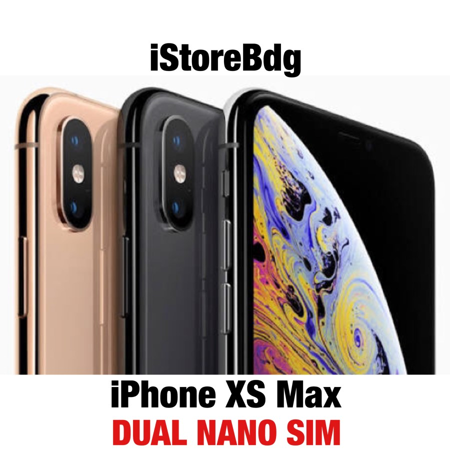 iPhone 256GB XS Max 256GB Space Grey Gray - Gold - Silver Dual SIM