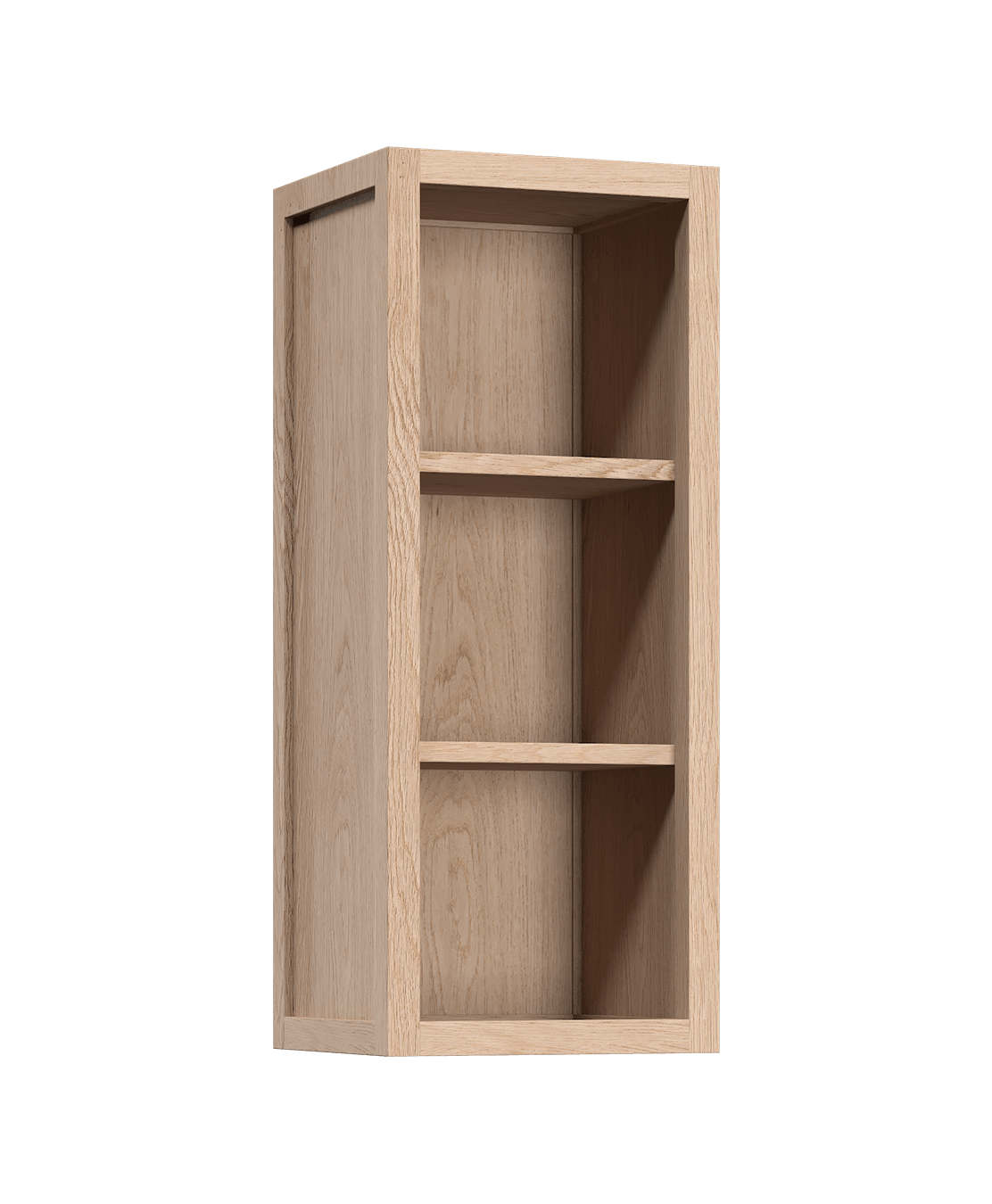Open Cabinet Radix Wall Upper Kitchen Cabinet Open 12 In White Oak Coquo