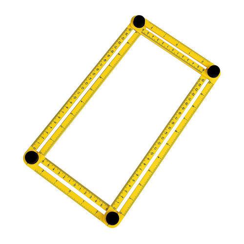 Angle-Izer Template Tool, Multi-Angle Measuring Ruler, Measures All - angle template