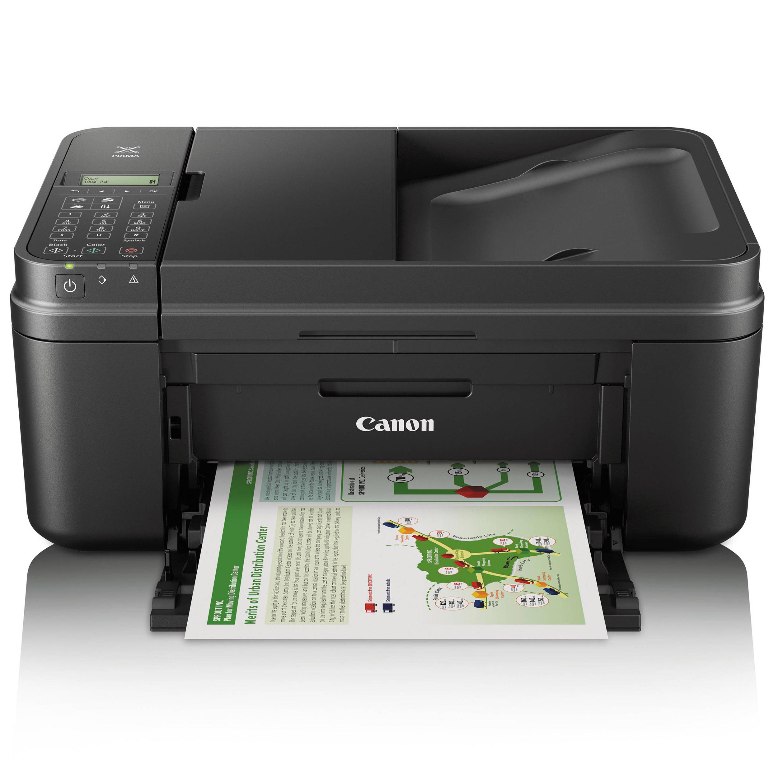 Canon All In One Canon Pixma Mx492 All In One Color Inkjet Printer At