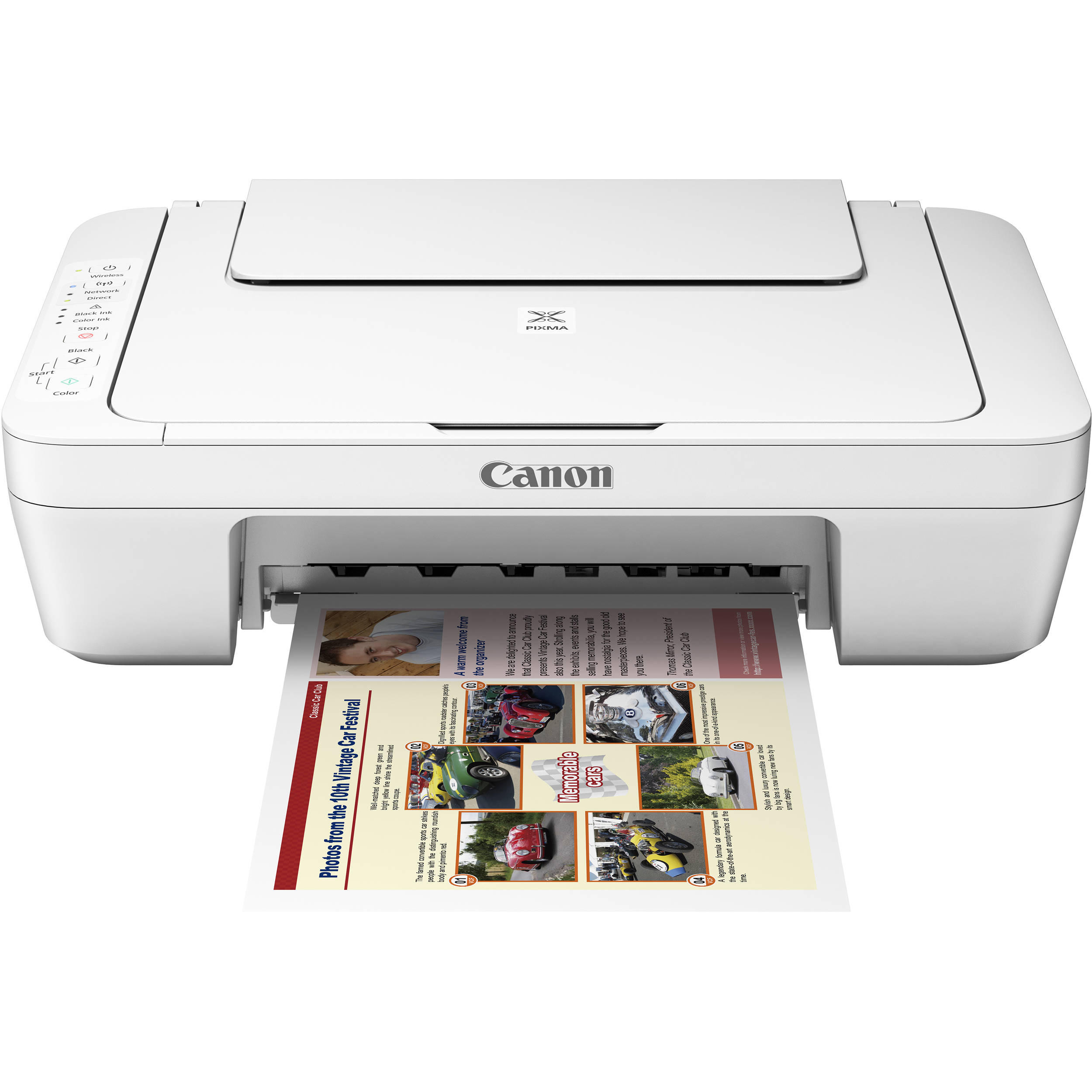 Canon All In One Canon Pixma Mg3020 All In One Color Inkjet Printer At