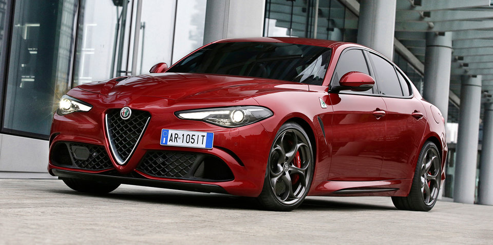 2017 Alfa Romeo Giulia QV Australian pricing announced