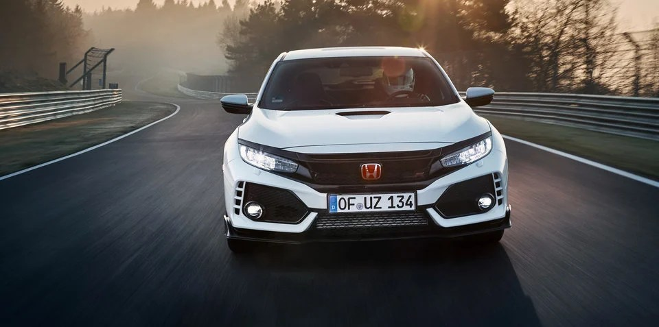 2018 Honda Civic Type R sets Nurburgring lap record
