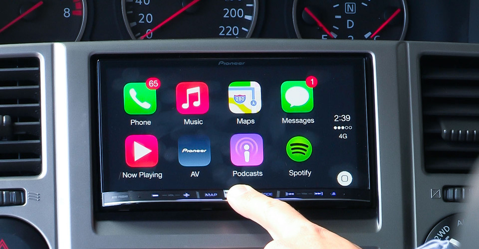 Android Car Stereo Wallpaper Apple Carplay By Pioneer First Test