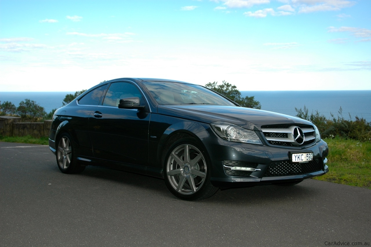 C Class Coupe Review Mercedes Benz C Class Coupe Review Caradvice
