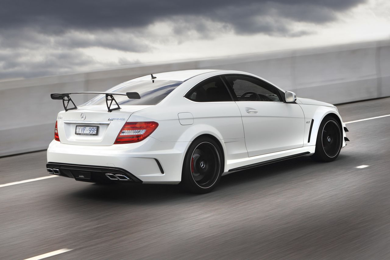 mercedes benz c63 amg coupe black series unleashed