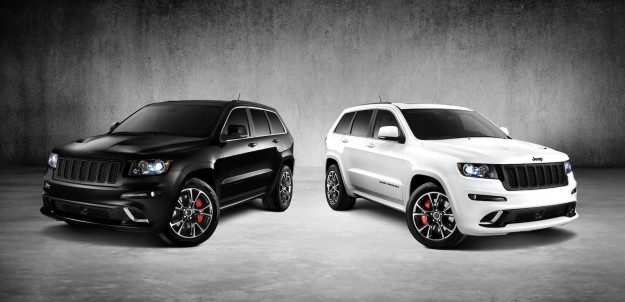 jeep grand cherokee srt8 alpine vapour special editions for australia