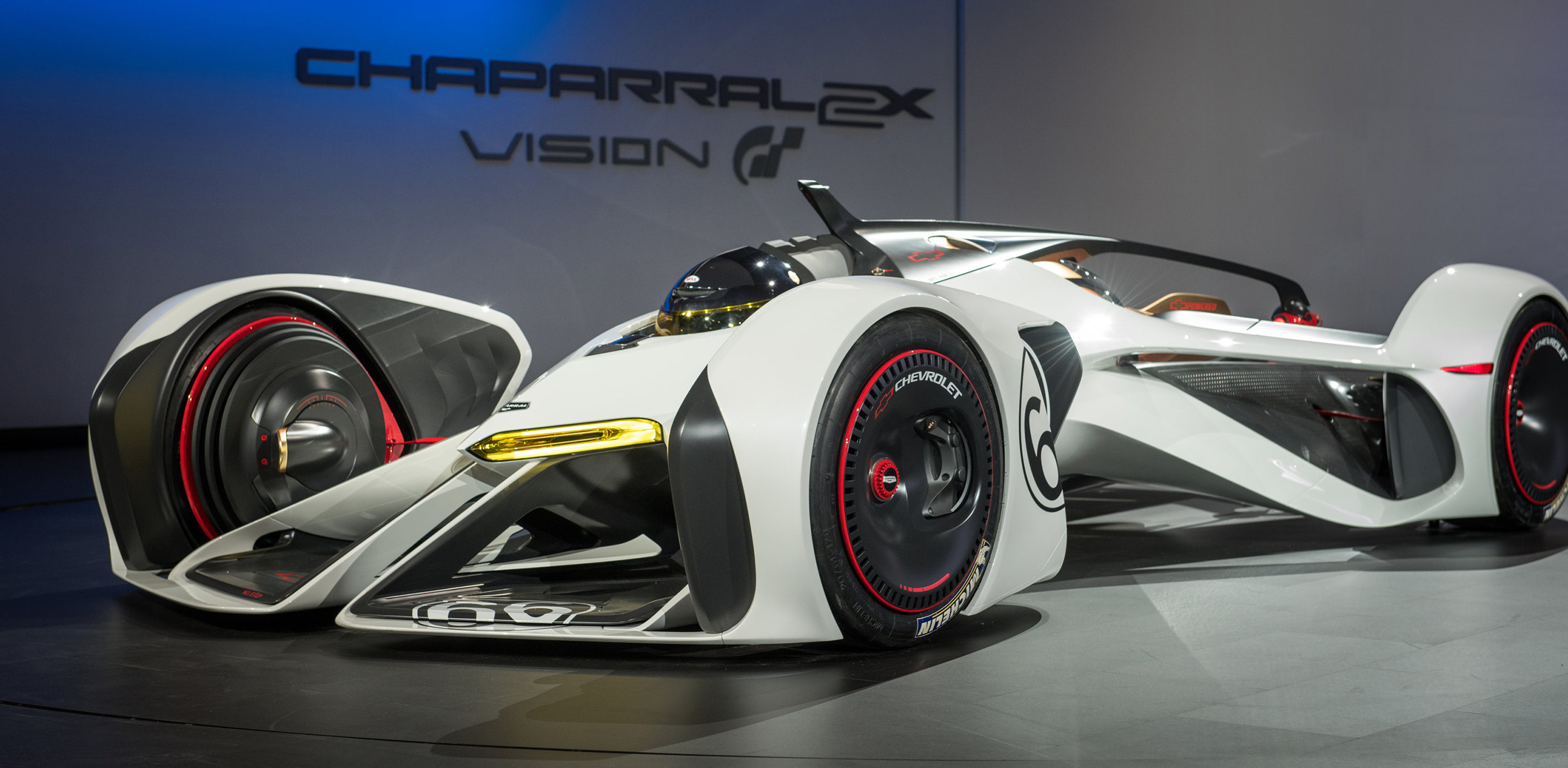 2x 2x Chevrolet Chaparral 2x Vision Gran Turismo Is Powered By