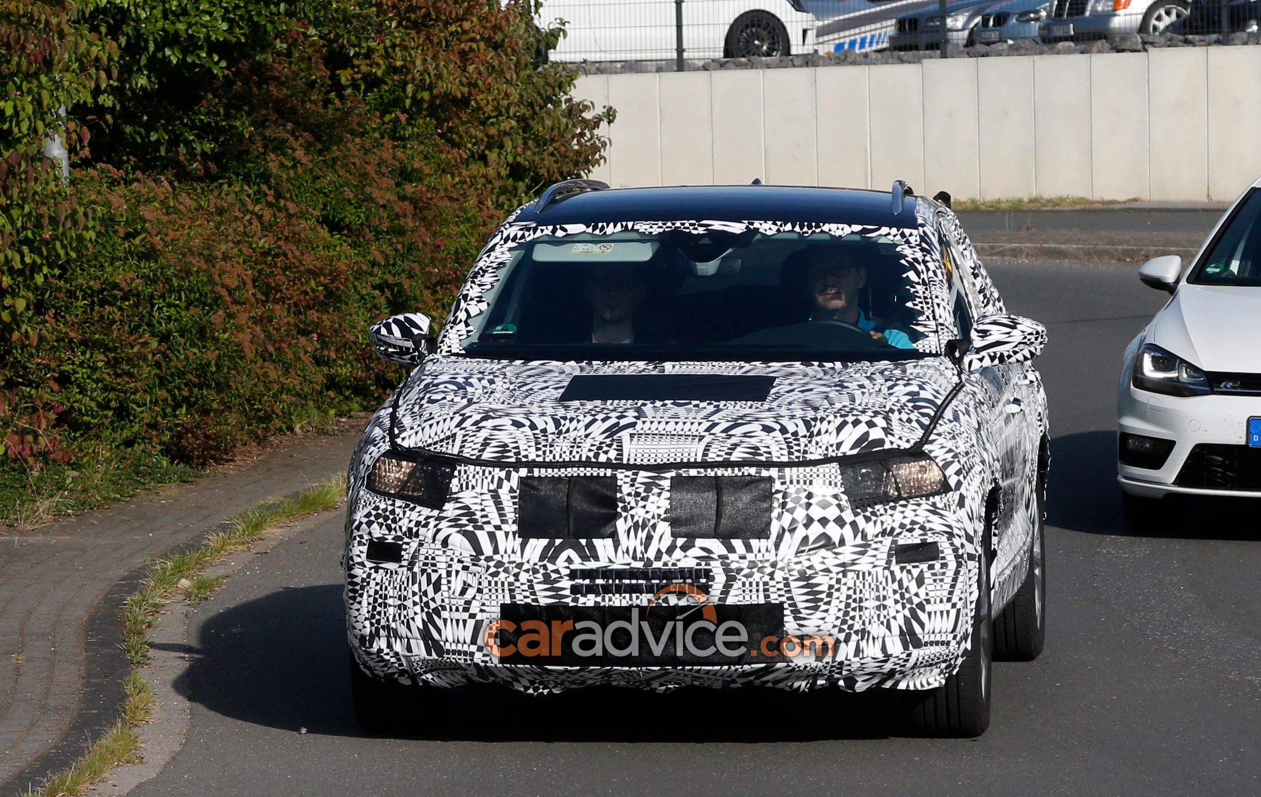 Brand New Vw Polo Volkswagen 39s Brand New Small Suv Spied Confirmed For