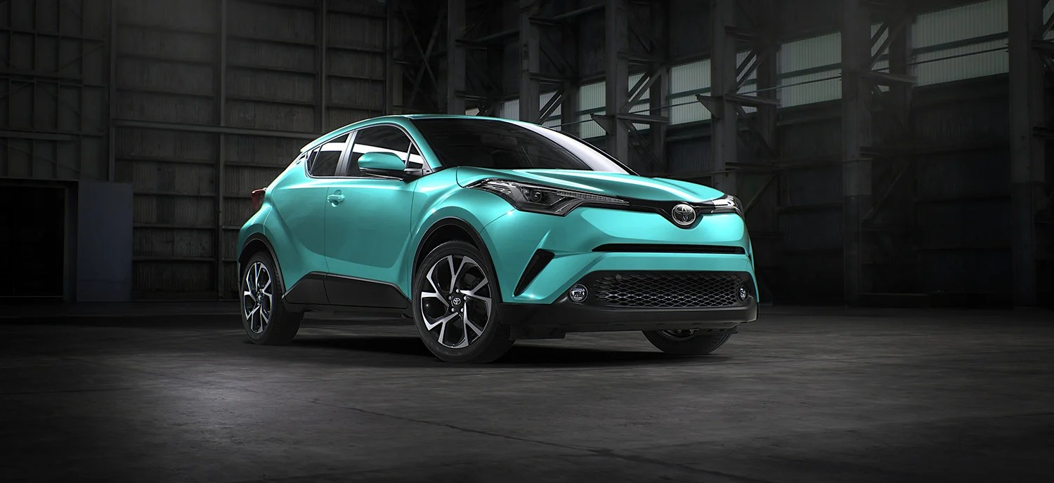 Car Comparison 2017 Toyota C-hr Detailed For Australia Ahead Of First