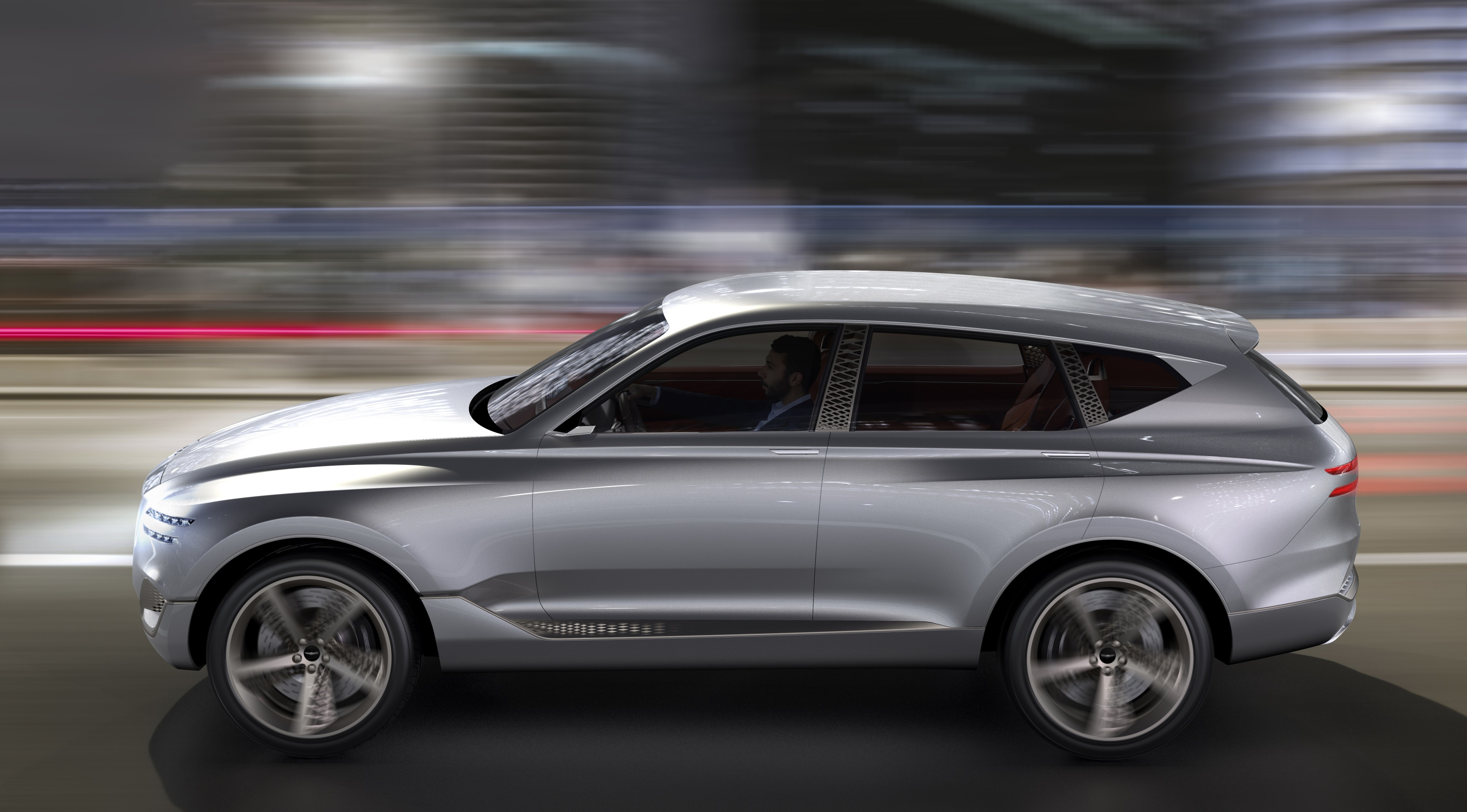 Car Manufacturers Careers Genesis Gv80 Concept Unveiled Photos Caradvice